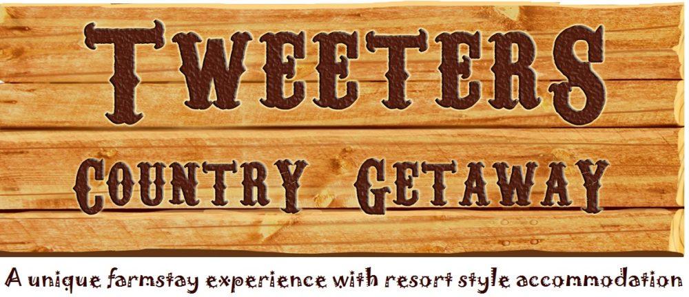 Tweeters Country Getaway